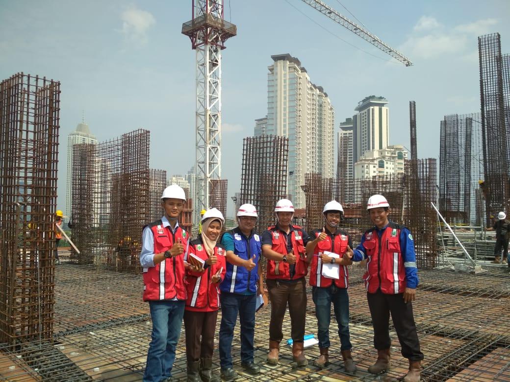 Mahasiswa Kerja Praktek (KP) Pada Proyek Mega Konstruksi dan di Perusahaan Besar