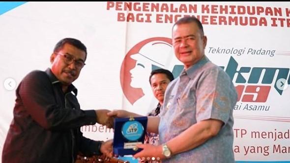 PKKMB ITP 2019, Kamis 5 September 2019. Sebagai narasumber adalah Bapak Drs. H. Nasrul Abit, Wakil Gubernur Sumatera Barat.